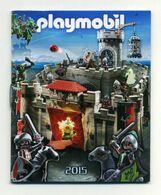 Mini Catalogue Playmobil 2015 - Dimensions 7 Cm X 8,5 Cm - Playmobil
