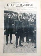 L'Illustrazione Italiana 20 Ottobre 1918 WW1 Laon Nisc Fiandra Haardt Montdidier - Guerra 1914-18
