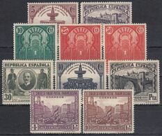 ESPAÑA 1931 Nº 604/613 NUEVO - 1931-50 Ungebraucht