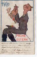 DC3026 - Motiv: Soldat Mit Huhn, Bunte Eier - Uniforms