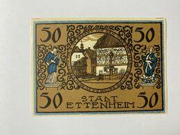 Allemagne Notgeld Ettenheim 50 Pfennig - Collezioni