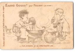 CPA Poulbot Serie Sacré Gosse - Poulbot, F.