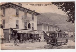 7690 - Villefranche Sur Mer ( 06 ) - Quartier De L'Octroi ( Arrêt Du Tram ) - éd. Baylone Frères à Nice - - Villefranche-sur-Mer