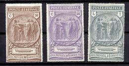 Italie YT N° 140/142 Neufs *. B/TB. A Saisir! - 1900-44 Victor Emmanuel III