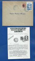 Enveloppe Historique Sur La Libération De Paris Timbres Général De Gaulle Oblitération: Poste Spécial 20 Aout 1944 - Liberation