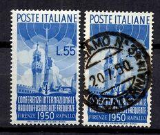 Italie YT N° 562 Neuf * Et Oblitéré. B/TB. A Saisir! - 1946-60: Nieuw/plakker