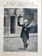 L'Illustrazione Italiana 22 Dicembre 1918 WW1 Wilson Bolzano Farina Karoly Pola - Guerra 1914-18