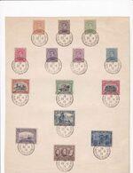 135 à 146 148 149 St-Adresse Poste Belge Belgische Post - 1915-1920 Albert I.