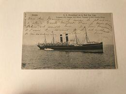 Antwerpen  SS Kroonland De La Red Star Line   Edit H. N. à A N° 52 - Antwerpen