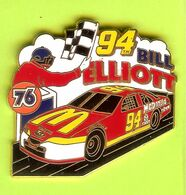 Pin's Mac Do McDonald's 94 Bill Elliott Ford Course Automobile - 7A20 - McDonald's