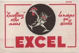 Buvard Publicitaire Ancien/Margarine/ EXCEL/Excellisez Votre Cuisine ... /La Marque Qui Excelle/vers 1950-60     BUV521 - H