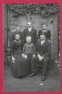 Carte PHOTO 14 X 9 Cm Des Années 1930..FEMMES ( PIN UP), HOMME ENFANT..Fonds Photographique BOURGAULT à FLERS (Orne 61) - Pin-ups