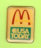 Pin's Mac Do McDonald's USA Today (Média) - 7A24 - McDonald's