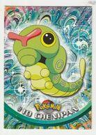 Pokémon Gamefreak Nintendo Topps 1999 #10 Chenipan - Pokemon