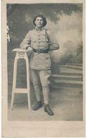 Carte-Photo : Portrait Militaire Nommé VIOL Baptistin - Infanterie 159e (BP) - War, Military