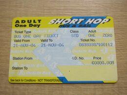 Ireland Lamrod Eireann Adult One Day Ticket,Short Hop - Bus