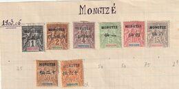 Mong-tzeu - N° 1 A 6 + 10 Et 11  Avec Charniére * Forte Pour Certain Dont 10 Et 11 - Ungebraucht