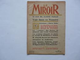 LE MIROIR - REVUE HEBDOMADAIRE DES ACTUALITES N° 50 - 1914 - Politiek