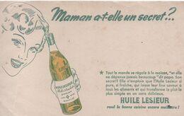 Buvard Publicitaire Ancien/Huile De Table/ LESIEUR/ Maman A-t-elle Un Secret ? /vers 1950-60     BUV525 - H