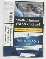PHILIP MORRIS BLUE SOFT ITALY BOX SIGARETTE - Tabaksdozen (leeg)