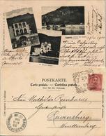 Cartoline Campione Del Garda 3 Bild Chiesa Restaurante Stadt 1900 - Zonder Classificatie