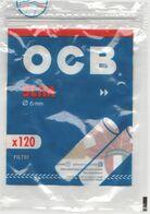 OCB FILTRI SIGARETTA CONFEZIONE VUOTA EMPTY ITALY - Raucherutensilien (ausser Tabak)