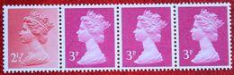Strip 1x 2½p 3x 3p Machin QE II Definitives 1980 1981 POSTFRIS MNH ** ENGLAND GRANDE-BRETAGNE GB GREAT BRITAIN - 1952-.... (Elizabeth II)