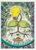 Pokémon Gamefreak Nintendo Topps 1999 #69 Chetiflor - Pokemon