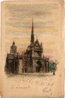 CPA PARIS 10e - St. Laurent (84075) - District 10