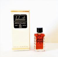Miniatures De Parfum   HABANITA  De MOLINARD     2.4 Ml + Boite - Miniaturen Flesjes Dame (met Doos)