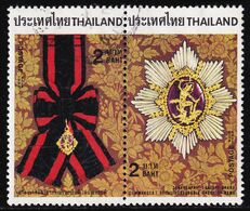 Thailand Stamp 1988 Royal Decorations (2nd Series) 2 Baht In Pair - Used - Tailandia