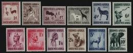 Südwestafrika 1954 - Mi-Nr. 279-290 ** - MNH - Freimarken / Definitives (II) - South West Africa (1923-1990)