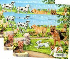 (L72) France 2011 Feuillet N° 4545 (chiens De Race) Oblitéré Cachet Rond Et Gommé, Par 5 Exemplaires - Used Stamps