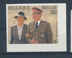 BELGIUM  COB 2621 IMPERFORATED ALWAYS NO GUM - Imperforates