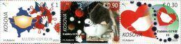 Kosovo Stamps 2020. COVID-19, Pandemic, Coronavirus, Care. Set MNH - Kosovo