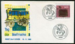08088) BRD - Mi 1065 - FDC - 60+30Pf    Tag Der Briefmarke 1980 - FDC: Sobres