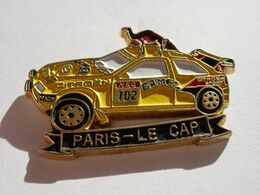 CITROEN RALLYE CAMEL PARIS-LE CAP - Citroën