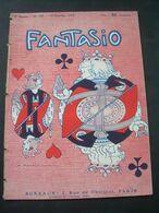 FANTASIO N 155 Janvier 1913..Roubille, Fabiano, Barrère, Bert, Metivet, Veber, ,., NU COQUIN..3 Scans - 1900 - 1949