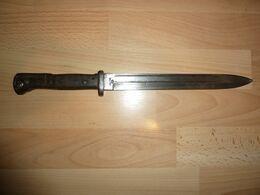 Baionnette Allemande Mauser 84/98 1er Type   Sans Le Fourreau - Armes Blanches