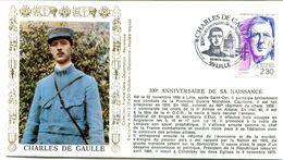 Thème Général De Gaulle - BT LILLE - 22 Novembre 1990 - Y 511 - De Gaulle (Generaal)