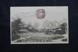 JAPON - Affranchissement Sur Carte Postale Pour La France - L 70925 - Lettres & Documents