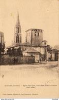 D33  COUTRAS  Eglise St- Jean, Son Ancien Clocher Et Abside  ..... - Altri Comuni