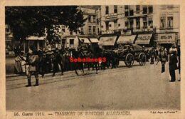 Guerre 1914 - Transport De Munitions Allemandes - 1915 - Spa