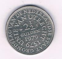 2 1/2 GULDEN 1979 UTRECHT NEDERLAND /6809/ - [ 3] 1815-… : Regno Dei Paesi Bassi