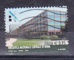 2015  BIBLIOTECA CENTRALE ROMA  USATO - 2011-...: Used
