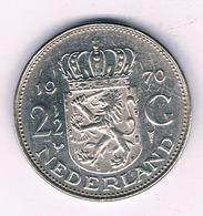 2 1/2 GULDEN 1970  NEDERLAND /6810/ - [ 3] 1815-… : Regno Dei Paesi Bassi