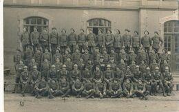 Carte-Photo - Portrait D'un Groupe Militaire Chasseur Du 29 BCP (BP) - Krieg, Militär