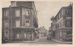 ARGENTEUIL (Val D'Oise): Rue De La Chaussée - Argenteuil