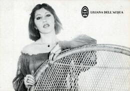 LILIANA DELL'ACQUA-RADIO MONTECARLO-O.M. 701 KHz- 10 X 15- - Artisti