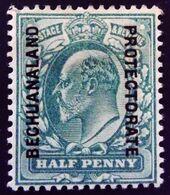 Bechuanaland 1904 Edouard VII Grande Bretagne Surchargé Great Britain Overp. Bechuanaland Protectorate Yvert 22 * MH - Bechuanaland (...-1966)
